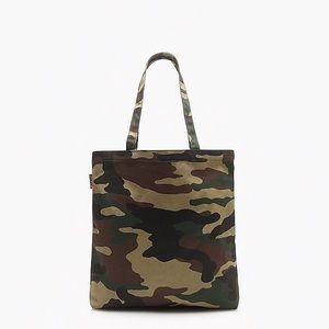 J. Crew Army Camo Tote Bag